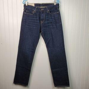 Hollister Dark Wash Classic Straight Leg 30X30